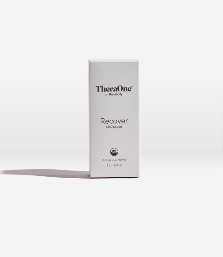 Recover CBD Lotion