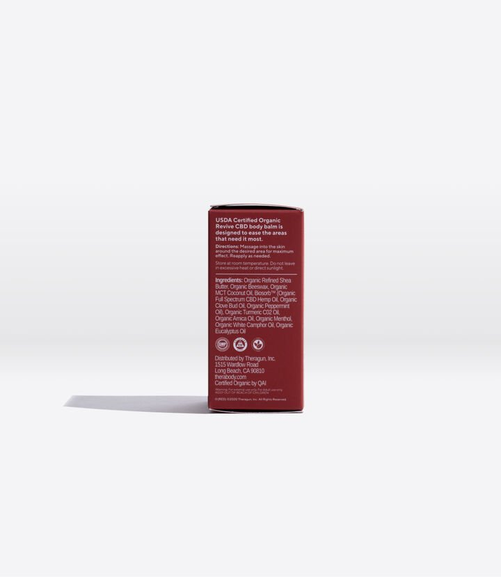 Revive CBD Body Balm Stick (RED)