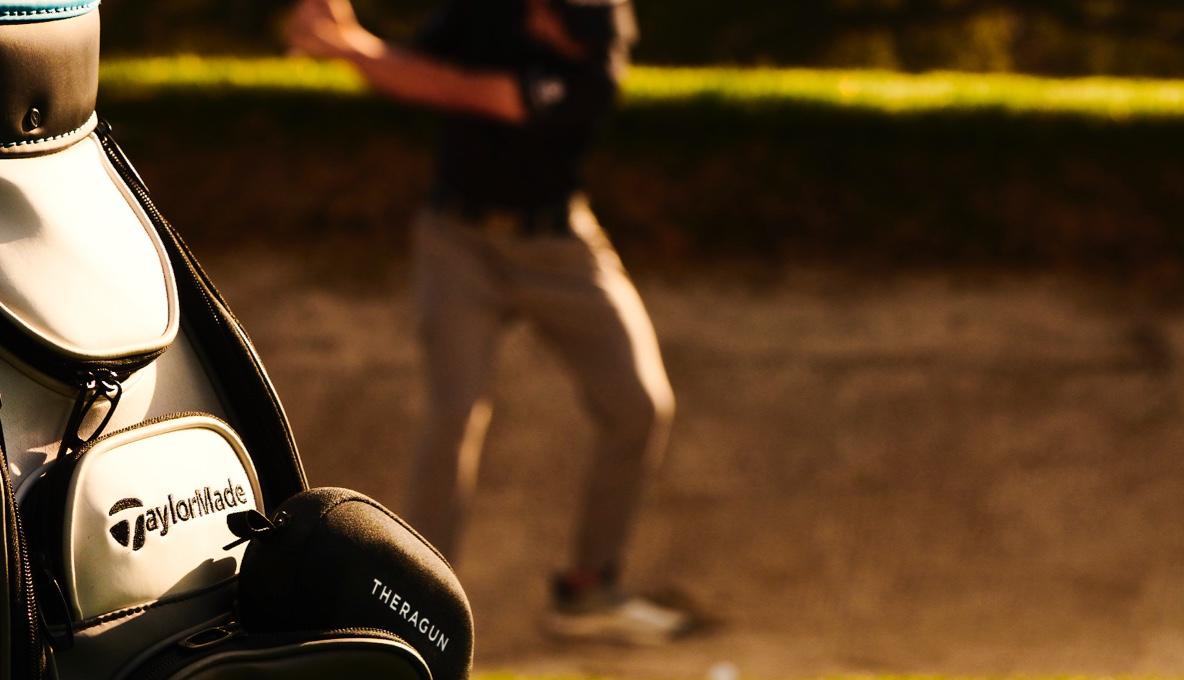 Collin Morikawa playing golf