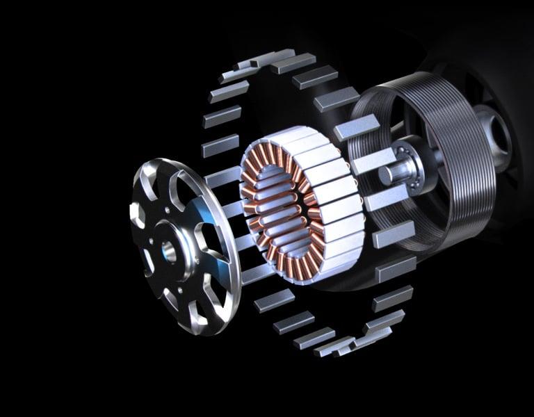 Theragun motor